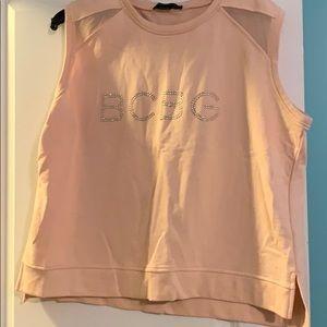 BCBG sleeveless sweatshirt
